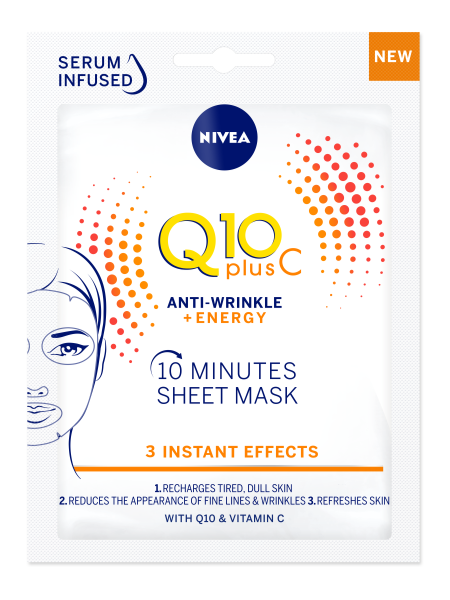 NIVEA Q10 Plus C Sheet Mask