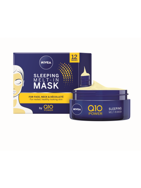 NIVEA Q10 Sleep Melt-in Mask